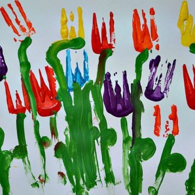 art-projects-for-kids-with-forks